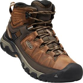Keen Targhee III Mid WP Shoes Men brown
